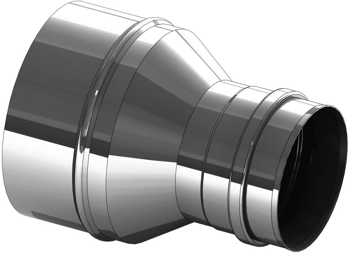Réduction inox 250 vers 200 mm