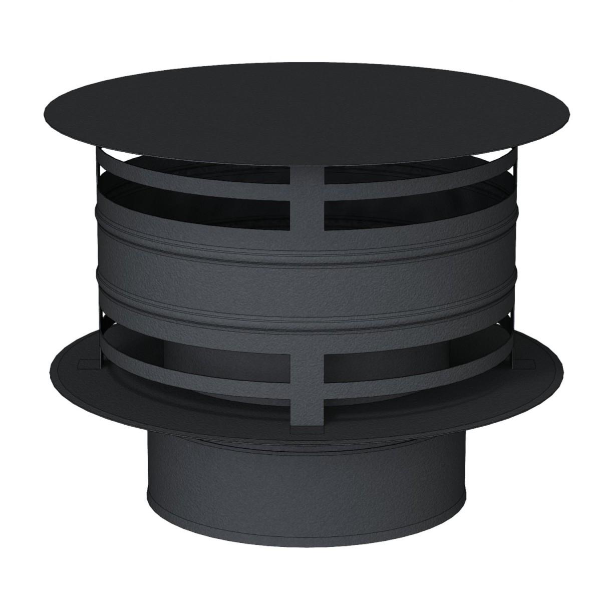 Chapeau anti -refouleur noir