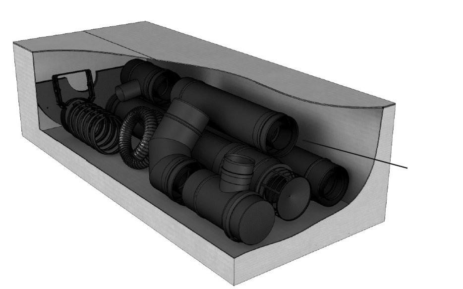 Kit Pellet concentrique 100 mm