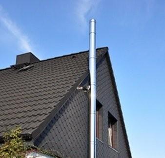 Conduit de cheminée Kit extérieur 150 mm