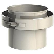 Adaptateur simple - double paroi 180 mm