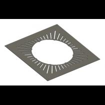 Plaque ventilée de distance aux matériaux combustibles